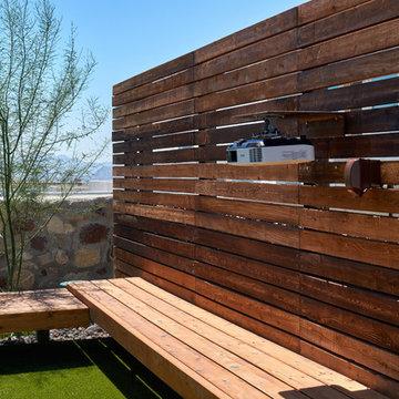 Westside El Paso Contemporary Outdoor Living