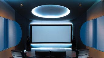 Ellipse - Home cinema room