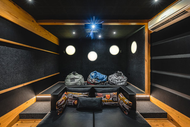 Asian Home Theater by Design Box