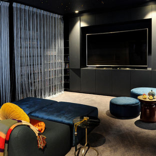 Contemporary Home Theatre In Sydney.