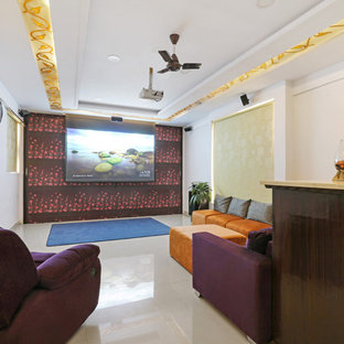 Indian Home Theatre Design Ideas Inspiration Images Houzz
