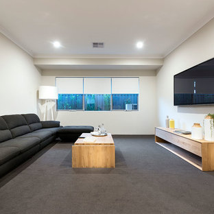 Example of a danish home theater design in Perth