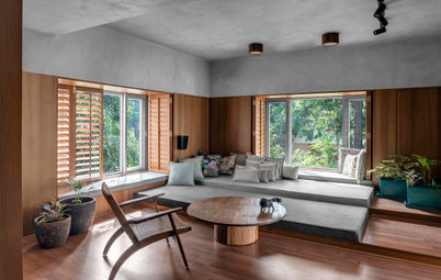 Surat Houzz: Greys & Browns Come Together in a Home Like Never Before
