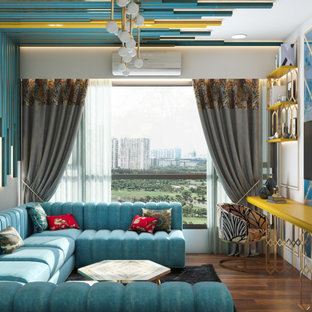 Working Wednesday Day Night Effect on Home Interior Design