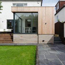 Contemporary Exterior by Moon Design + Build