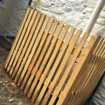 8.5kW Air Source Heat Pump installation, Cornwall