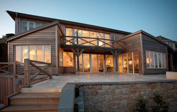 Coastal Exterior by Carpenter Oak Ltd