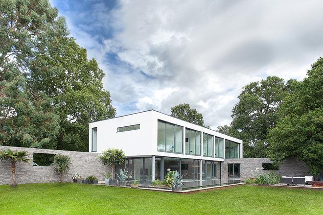 Modern Exterior by AR Design Studio Ltd