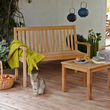 Aland Wooden Bench