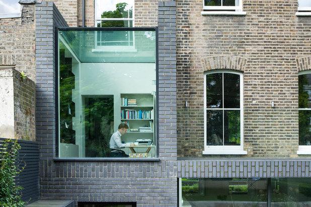 Contemporáneo Fachada by Lipton Plant Architects