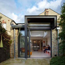 Industrial Exterior by Mark Collett Design and Build