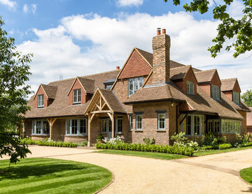 Arts and Crafts timber windows and doors, Woking Surrey