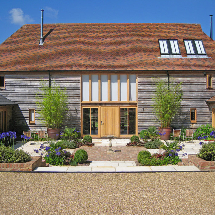 Barn Conversion- Stripes and Grasses