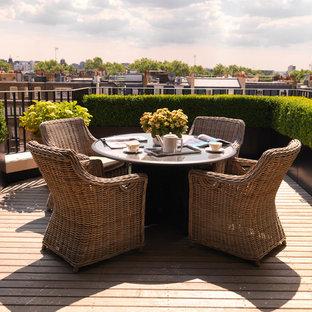 Design ideas for a contemporary exterior in London.