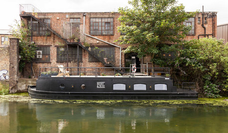 British Houzz: A Barge Awash With Bright Ideas