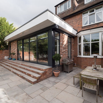 Bespoke extension to Victorian Townhouse, Sutton Coldfield, UK