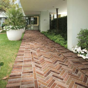 Bristol Red Brick - Exterior Path