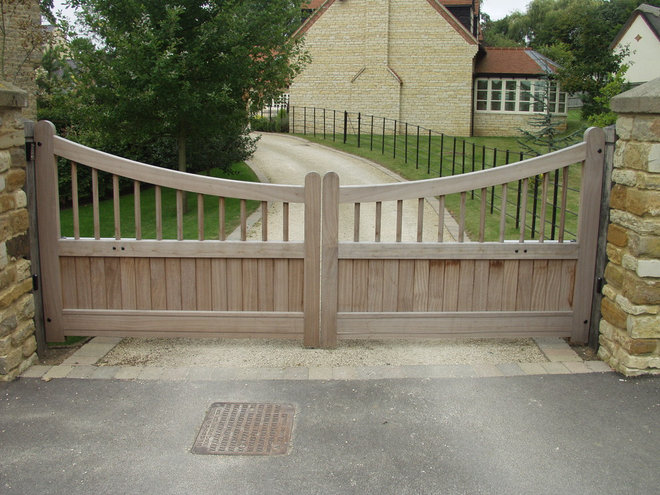 Traditional Exterior by Britannia Joinery