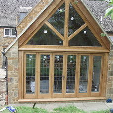Modern Exterior by Britannia Joinery