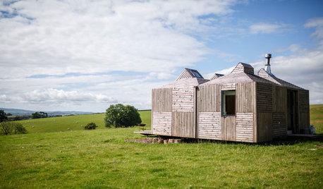 Houzz Tour: Innovative Small Space Living on Scottish Farmland