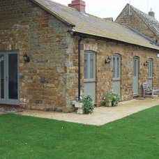 Rustic Exterior by Britannia Joinery