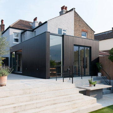 Charcoal House - Blackened Timber Extension