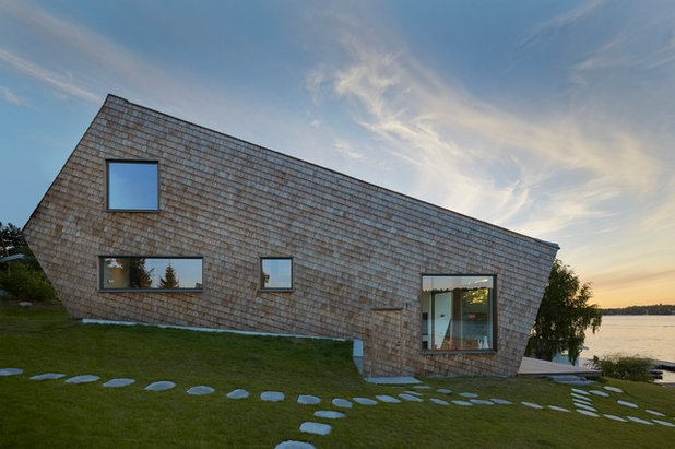 Contemporary Exterior By Trigueiros Architecture