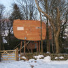 Houzz Tour: An Off-grid Treetop Hideaway for Two in Scotland