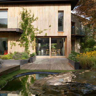 Inspiration for a contemporary exterior in Cheshire.