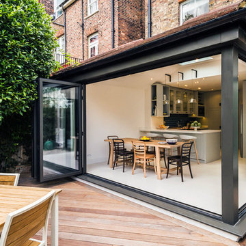 Contemporary Rear Extension on Victorian Terrace