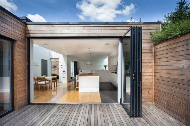 Trendy Hus & facade by designcubed