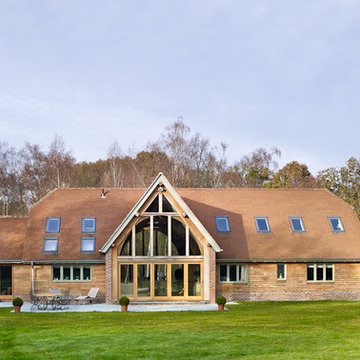 Crafting A Timber Frame Home   Surrey