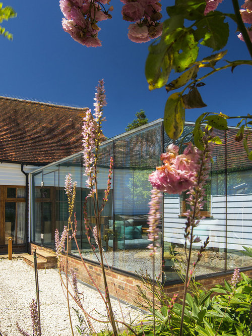 Beautiful glass garden room in kent for Garden rooms kent