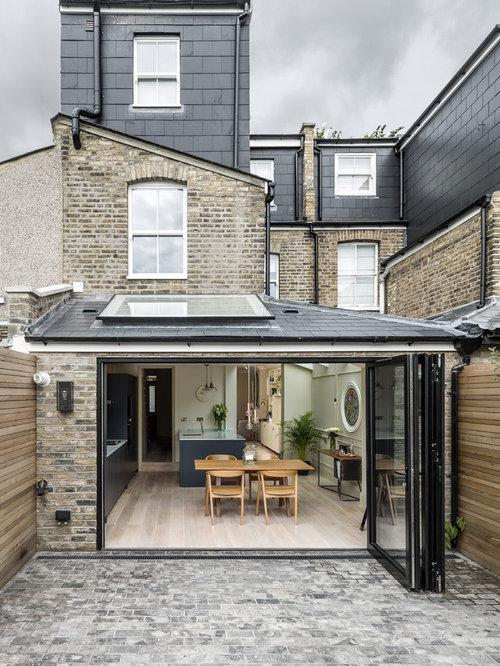 Scandinavian exterior design ideas renovations photos for Scandinavian style homes exterior