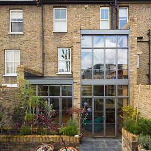Double height crittall style extension