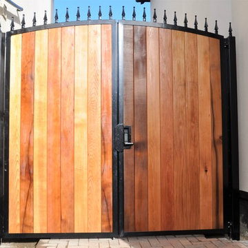 Double Metal Gates with Timber In-fill