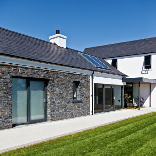 Drumlins house for Modern house design northern ireland