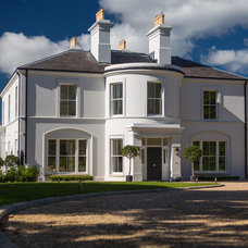 Traditional Exterior by Des Ewing Residential Architects