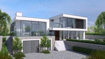 Energy efficient contemporary modern design