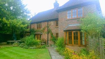 Exterior Oak Windows