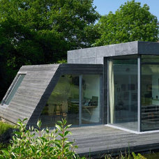 Contemporary Exterior by David Churchill - Architectural  Photographer