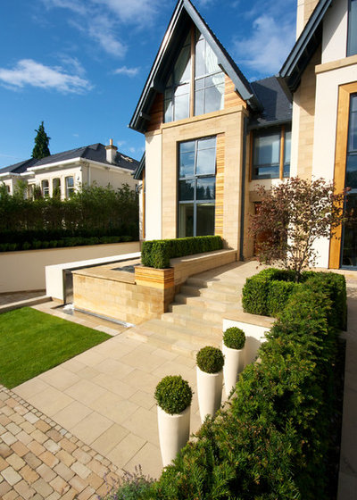 Contemporary Exterior by Barnes Walker Ltd - Landscape Architects