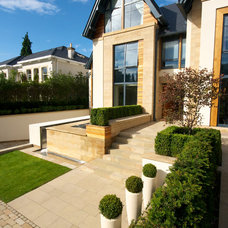 Contemporary Exterior by Barnes Walker Ltd - Landscape Architects