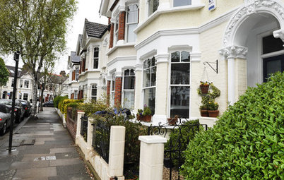 Houzz Tour: Eclectic Row House in London