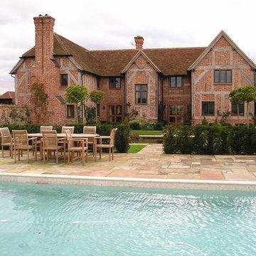 Formal Tudor Windsor Garden
