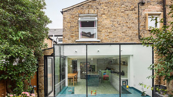 Frameless Glass Conservatory, London Peckham SE24