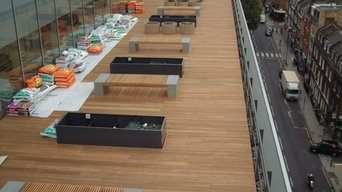 FSC Thermowood Ash Hardwood - ITN Building, London
