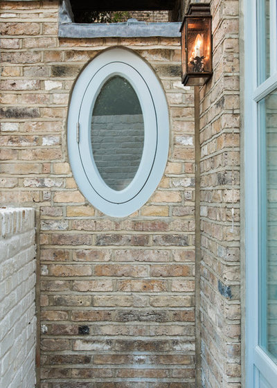 Traditional Exterior by Lisette Voute Designs