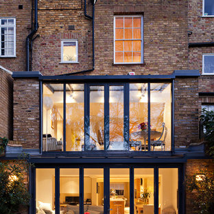 Example of an urban exterior home design in London