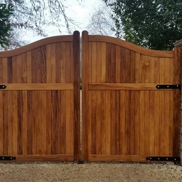 Fully Boarded Wooden Gates